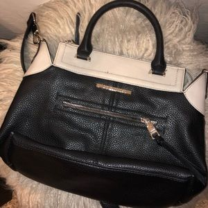Steve Madden Betty Crossbody Black Beige
